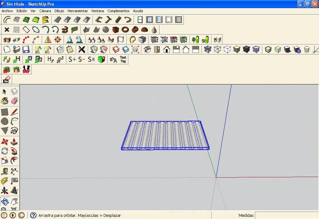 Como copiar componentes con el google sketchup pro 8 youtube for Mobilia para sketchup 8
