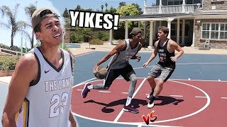 MY WORST 1v1 BASKETBALL GAME EVER! WEAKNESS EXPOSED!