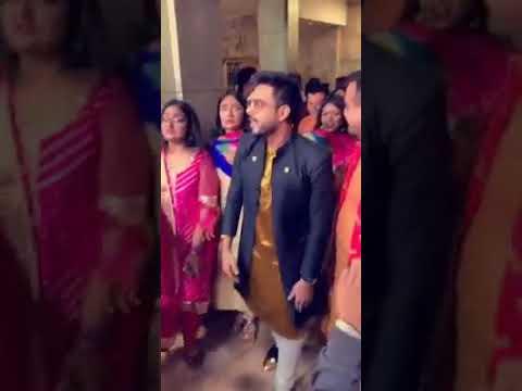 Saajanji Ghar Aaye Wedding Entry Dance Bangladeshi Actor Siam Ahmed