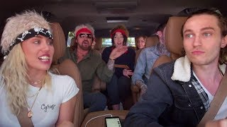 Miley Cyrus Family Sing Billy Ray 39 S 34 Achy Breaky Heart 34 On Carpool Karaoke