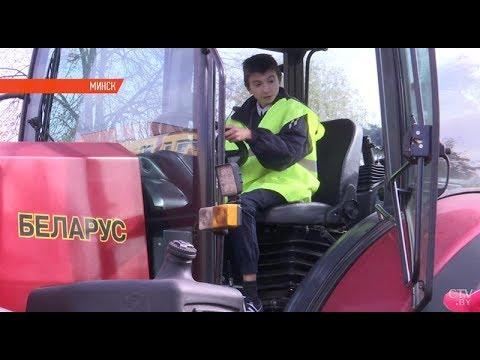 Школьникам показали, как собирают трактора на МТЗ