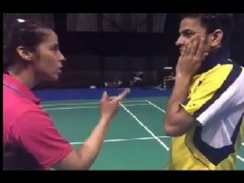 Saina Nehwal turns Paresh Rawal in Dubsmash video, slaps Akshay Dewalkar