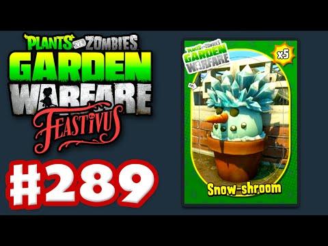 Plants vs. Zombies: Garden Warfare - Gameplay Walkthrough Part 289 - Feastivus Snow Shroom! (PC)