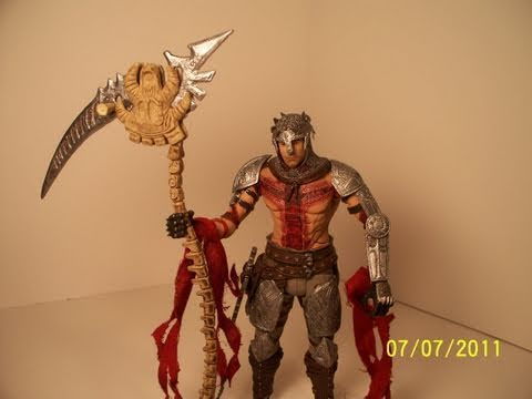 NECA DANTE'S INFERNO DANTE PLAYSTATION 3 VIDEO GAME ACTION FIGURE TOY REVIEW