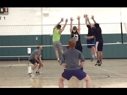 Open Gym Volleyball Highlights (part 2/2) - 4/14/16