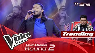 Thilina Sudesh   Sandapana Wage Dilenne Live Shows Rounds 02   The Voice Sri Lanka