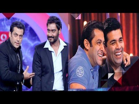 Who Will Salman Khan Choose Karan Johar Or Ajay Devgan? | Bollywood News