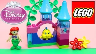 Lego Duplo Disney Princess Ariel Little Mermaid Disney Toy Unboxing Toys Review