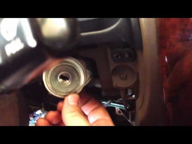 How to remove 96-01' Toyota 4Runner Ignition Lock Cylinder ...