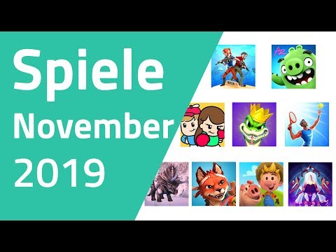 Top Spiele für Android & iOS - November 2019