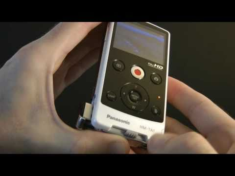 Panasonic HM-TA1 Pocket HD Camcorder Review