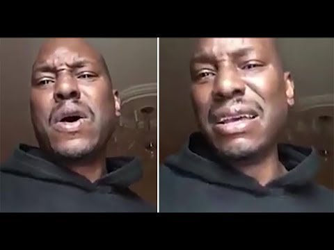 Tyrese Gibson has a breakdown on tape over his daughter!!!