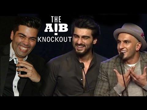 Ranveer Singh, Arjun Kapoor, Karan Johar's ABUSIVE LANGUAGE CONTROVERSY | AIB Knockout