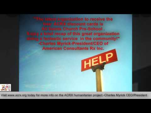 All Saints Church PreSchool Receive Tribute & Medicine Help By Charles Myrick