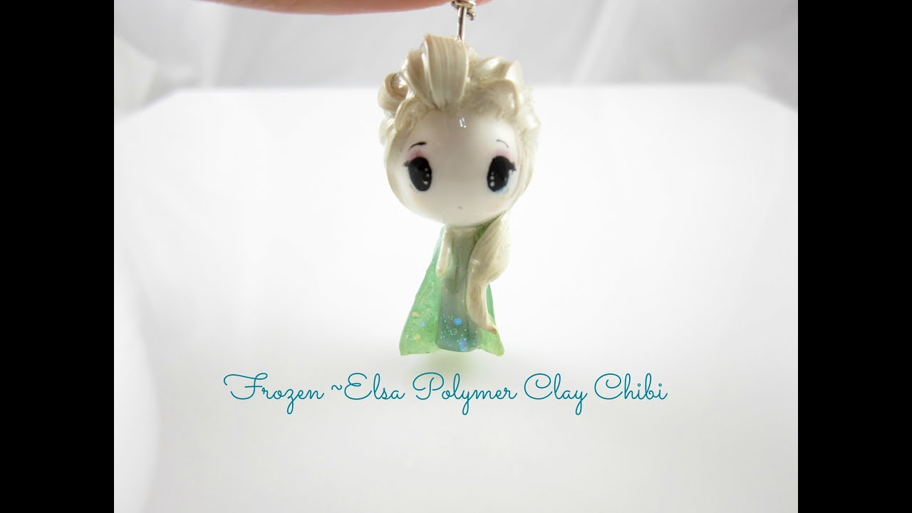 how to make elsa out of clay