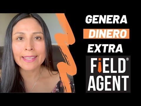 Field Agent Haz Dinero Extra desde tu celular para Australia, Canadá, México y USA.