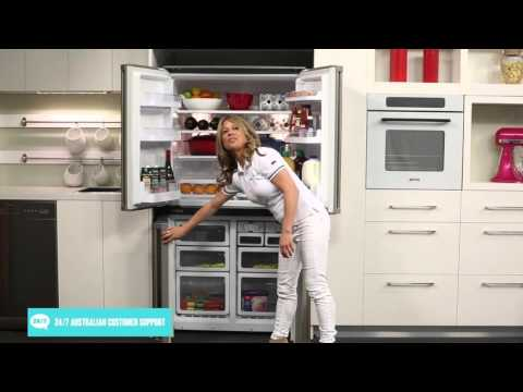 Sharp SJF624STSL 624L 4 Door Fridge Reviewed By Product Expert - Appliances Online