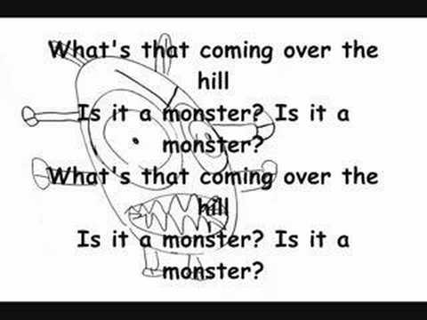 Monster - The Automatic (with lyrics)