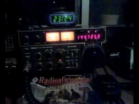 Old transceiver ICOM IC-211E VHF Echolink