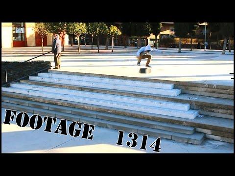 Skateboarding Footage 1314 - Material de archivo