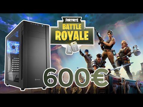 Configurazione PC per giocare a Fortnite e streaming | COMPUTER DA GAMING 600€