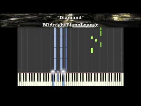 ♫ Diamond By Rihanna Piano Tutorial In B Minor ♫ video