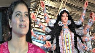 Kajol At Durga Puja - Full Video 2016