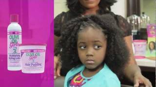 ORS Olive Oil Girls Styling Products Instructional