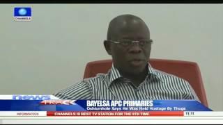 I Was Held Hostage By Thugs During Bayelsa APC Primaries-- Oshiomhole 240915
