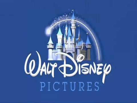 Disney pixar logo castle