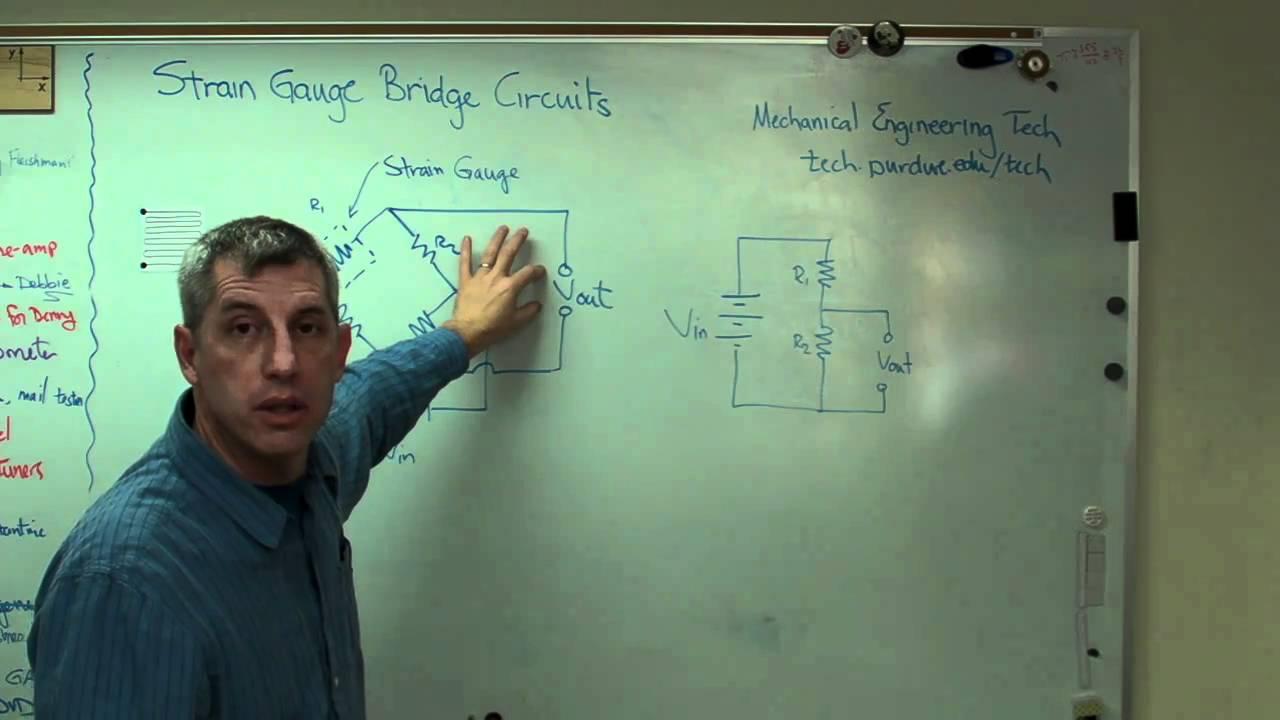Strain Gauge Measurement Strain Gauge 3 Bridge