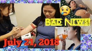 VLOG BUNTIS CHECK UP, MAY BAD NEWS! + GLUCOSE TEST (ogtt) | PINAY SAHM IN SINGAPORE