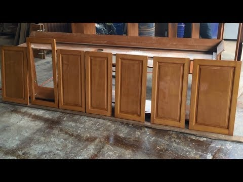 How To Making Cabinets Doors Fastest and Easiest - Amazing Project Build Furniture