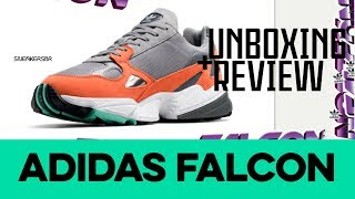 UNBOXING+REVIEW - Adidas Falcon