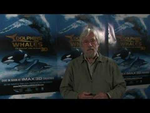Jean-Michel Cousteau presents DOLPHINS AND WHALES 3D: Interv