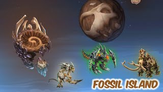 Isla Fósil (Fossil Island) | Monster Legends
