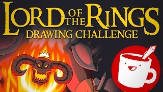 Lord of the Rings Drawing Challenge