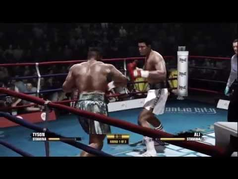 Fight Night Champion - Mike Tyson vs. Muhammad Ali Gameplay HD Image 1