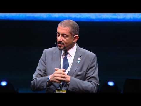 Dubai Maritime City Authority's Nawfal Al Jourani at the Agenda Offshore conference