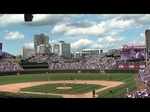 "Brad Underwood Sings ""Take me out to the Ballgame"" @ Wrigley Field"