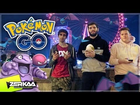 LATE NIGHT LONDON POKEMON HUNTING! (Pokemon Go)
