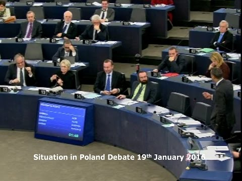 Situation in Poland (debate) - Syed Kamall MEP - 19-01-2016