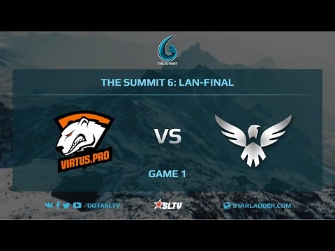 VirtusPro vs Wings Gaming, Game 1, The Summit 6, LAN-Final