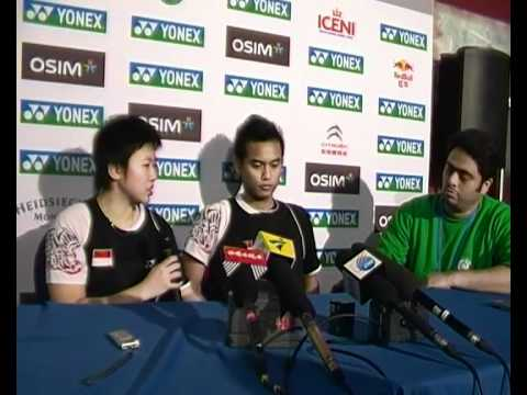 2012 Yonex All-England Open Finals Post-Match Press Conference - Liliyana Natsir/Tontowi Ahmad
