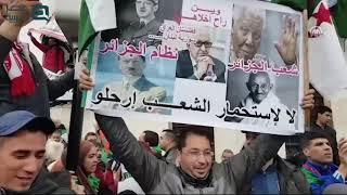 احتجاجات الجزائر.. مظاهرات حاشدة في الجمعة الخامسة للحراك