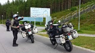 Motorradtour zum Nordkap und zurück