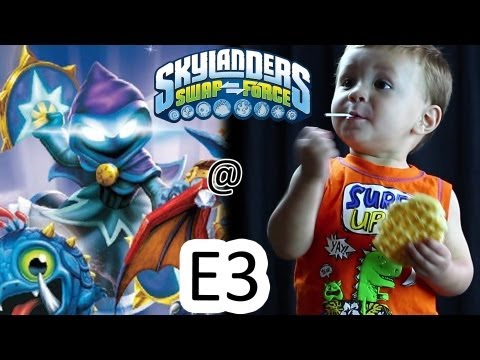 Going to E3 2013 + StarStrike. New Magic Skylander (Swap Force Release)