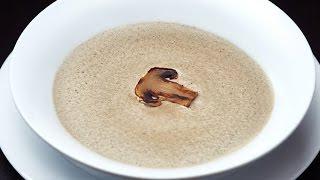 Рецепт Крем Суп из Шампиньонов NEW!!! Как приготовить  Крем Суп из грибов Шампиньоны  от mycoffee.bz