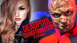 Deadpool Transformation & FX Makeup Tutorial