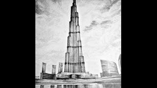 Burj Khalifa, Construction Hindi